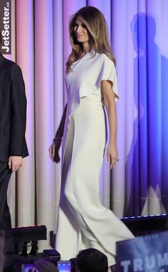 ВАШ ВЫХОД Хозяйка Белого дома: стиль Мелании Трамп -...