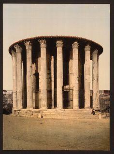 [Vesta's Temple, Rome, Italy] (LOC)