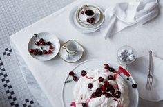 Whipped Whites // CH Essay. Food Styling - Heather Meldrom , Prop Styling - Pamela Dunkin Silver.