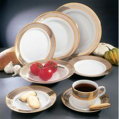 <strong>Ten Strawberry Street</strong> Studio Ten Elegance Dinnerware Collection