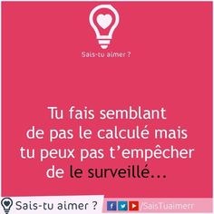 Tu fais semblant de ne pas le calculER mais tu peux pas t'empêcher de le surveillER New Love, Just Love, Deep Truths, My Diary, English Words, Love Words, Proverbs, Life Lessons, Affirmations