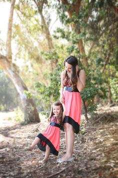 Malibu Dreams Dress, matching mommy and me dress from our Just Like Mommy Collection, Be Inspired Boutique