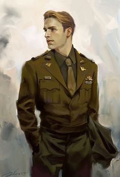 """Steve Rogers."" Posted on girlsreadcomics.com (image credit 菊叔) by Chantaal."