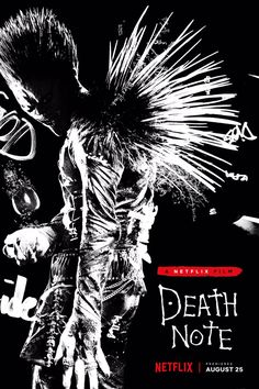Ryuk Appears In Poster For Netflix's Death Note Flick by Mike Ferreira