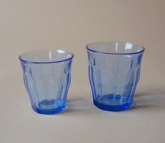 Duralex Picardie Glass Tumbler Marine Blue, perfect for table wine or juice. Durable and stackable.