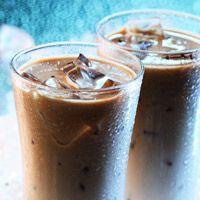 SPICY GINGER ICED COFFEE: 8 oz iced coffee 4 oz milk/creamer, 1 ½ pump Amoretti Premium Chai Syrup, 1 ¼ pump Amoretti Premium, Gingerbread Syrup