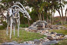 Stupendous-Contemporary-Garden-Sculpture-Ideas-in-Landscape-Rustic-design-ideas-with-dry-creek-dry-stream-bed-garden-art.jpg (JPEG Image, 990×660 pixels)