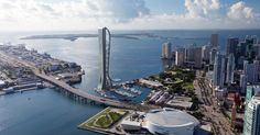 Florida is not known for high-rises (thank hurricanes for that), but the city of Miami wants to go rogue by constructing the state's tallest building—and letting visitors plunge from its heights.
