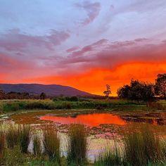 ele (@eat.live.escape) • Instagram photos and videos Beautiful Sunrise, Sunrises, Australia, Celestial, Photo And Video, Mountains, Live, Eat, Videos