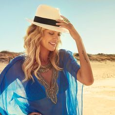 Because summertime is all about bold, vibrant colours!   New post on the Miss Tunica blog.  Link in bio.  #blue #loveblue #daretogobold #vibrant #fbloggers #fashionblog #instafashion #beachattire #misstunicablog #ibiza Vibrant Colors, Colours, Beach Attire, Love Blue, Ibiza, Panama Hat, Cowboy Hats, Summertime, Instagram Posts
