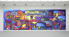 School Murals, Graduation Project, Store Windows, Mural Art, Pinball, Graffiti Art, Wall Colors, Pop Art, Illustration