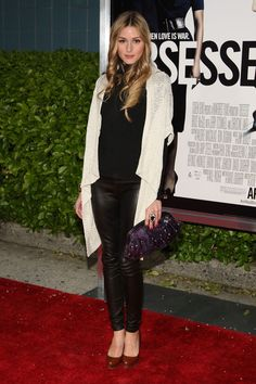 """Olivia Palermo Photos - The Cinema Society & MCM Host A Screening Of """"Obsessed""""-Outside Arrivals - Zimbio"""