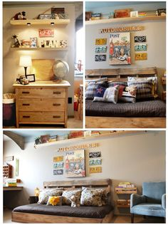 A Vintage room for a boy or a girl