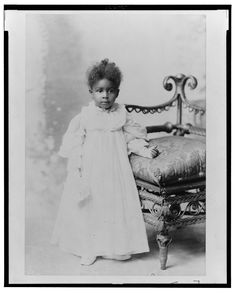 African-American Girl, ca. Washington: Library of Congress, LOT no. Source: Library of Congress Kids Outfits Girls, Kids Girls, Girl Outfits, Victorian Life, African American Girl, Baby Portraits, Black Kids, Beautiful Children, Fashion History
