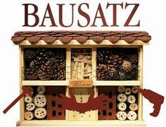 """""""Insektenhotel """"Landhaus Komfort"""" Bausatz"""" jetzt hier anschauen: http://insektenhotel-kaufen.de/bausaetze/insektenhotel-landhaus-komfort-bausatz/"""