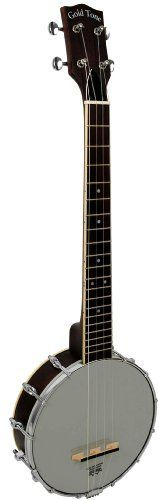 """Gold Tone BT-2000 Banjitar Banjo (SixString, Ebony) by Gold Tone. $838.50. Acoustically, The Banjitar 2000 (BT-2000) is the best sounding 6-string banjo Gold Tone has ever made. The larger 12"""" body accentuates the bass frequencies which are normally weak on other 11"""" 6-string banjo models. The maple rim and 12"""" rolled brass tone ring provide maximum sound chamber reverberation. Dual coordinator rods attach the neck securely so tuning remains consistent and adjustment..."""