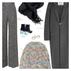 """Monday"" by amberelb ❤ liked on Polyvore featuring Emilia Wickstead, Acne Studios, Chloé, Chiara Ferragni, women's clothing, women's fashion, women, female, woman and misses"