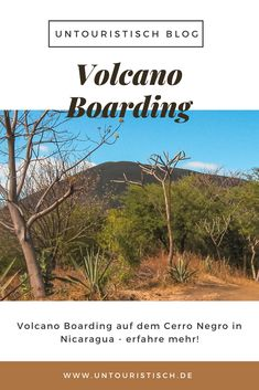 Wetten, das hast du bisher noch nicht gemacht, wenn du noch nicht in Nicaragua warst? Volcano Boarding auf dem Cerro Negro ist eine ganz besondere Sportaktivität. Erfahre hier alles zu dem Ausflug! Ometepe, Granada, Rafting, Outdoor Reisen, Wakeboard, Strand, Volcanoes, Tourism, Travel Tips