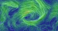 Hypnotic wind map captures Earth's heavenly currents • The Register