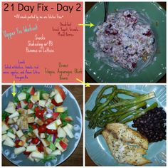 Day 2 of 21 Day Fix Program So full that I couldn't finish my lunch www.beachbodycoach.com/jigglesnwiggles