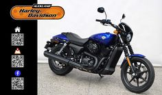 2016 HARLEY-DAVIDSON XG500 in Superior Blue At Auckland Harley-Davidson,  New Zealand www.amps.co.nz