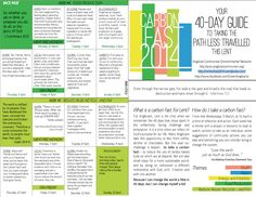 How goes your Lenten Carbon Fast? Weekly Themes for Carbon Fast via carbonfast2014.wordpress.com