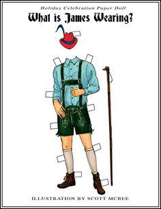 (Lederhosen!) PD181 James Austrian Costume by Scott McBee