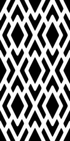 GEOMETRIC Pattern - Wall STENCIL - Reusable, Durable DIY Wall Designs | OliveLeafStencils - Handmade Supplies on ArtFire