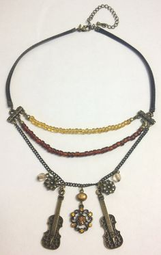Upcycled  Sherlock steampunk necklace by LovelyRuthies on Etsy, £8.00