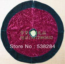 Christmas supplies christmas tree skirt decoration quality flannelet christmas tree skirt Christmas tree skirt(China (Mainland))