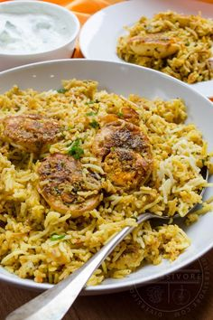 Hyderabadi Egg Biryani - a beautiful, flavourful vegetarian recipe, made easy with plenty of tips about the ingredients and methods, including dum cooking. #Sponsored by BC Egg