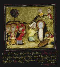 Davit Popiashvili          Иисус воскрешает Лазаря