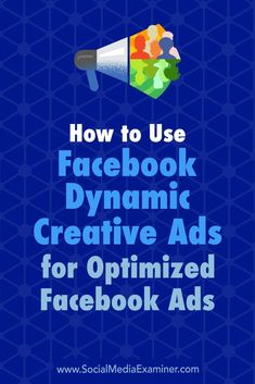 Do you split test your Facebook ads?  Looking for a more effective way to test Facebook ad variations?  The Facebook Dynamic Creative ad feature automatically tests multiple variations of a single ad.  In this article, you��ll discover how to use Facebook��