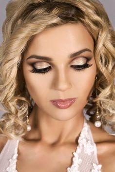 romantic wedding makeup more dramatic