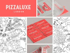 Pizzalux | BP | #design #branding #identity | http://www.pizzaluxe.com/