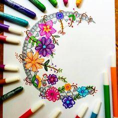 Ideas tattoo mandala sun coloring pages Zentangle Drawings, Doodles Zentangles, Mandala Drawing, Zentangle Patterns, Tattoo Drawings, Art Drawings, Flower Drawings, Doodle Patterns, Drawing Flowers