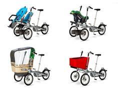 Taga is een duurzame driewieler stadsfiets met kinderzitje | Urbanist.be is een one-stop-shop van nieuwe trends in duurzame producten, interieur en architectuur met het accent op kwaliteit, lange termijn denken, innovatie en efficiëntie