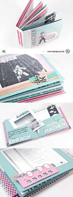 Mini album with the danipeuss Novemberkit by Melanie Hoch for www.de - Mini album with the danipeuss November kit by Melanie Hoch for www. Scrapbooking Album, Mini Scrapbook Albums, Baby Scrapbook, Scrapbook Cards, Ideas Scrapbook, Scrapbook Designs, Mini Albums, Album Design, Creative Memories