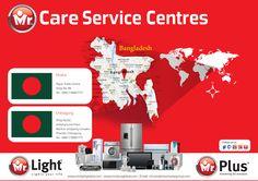 Check out our service centres at Dhaka and Chittagong, BANGLADESH!!!