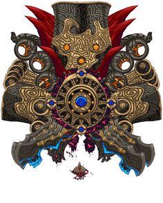 Pixel Dark Eye Ganon by SteelJoe
