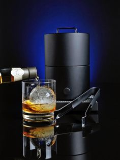 The Cirrus Ice Ball Press creates a perfect 2 3/4-inch, six-ounce ice sphere that's visually striking and lasts through multiple beverages. Originally used in boutique bars for high-end Scotch and whiskeys, ice spheres are now utilized in a variety of creative drinks and cocktails.