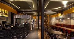 Nando's restaurant by BuckleyGrayYeoman, Dundee   UK hotels and restaurants