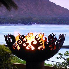 Great Bowl O' Fire Sculptural Firebowl