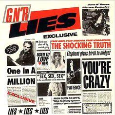 Guns N' Roses Lies – Knick Knack Records