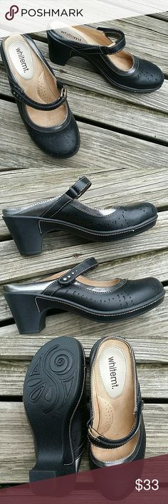 Slip on black shoes New. Comfortable and perfect for professional use For people who stay all day in feet and looking good whitemt Shoes