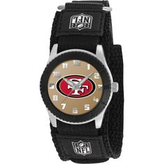 awesome Game Time Mid-Size NFL-ROB-SF Rookie San Francisco 49Ers Rookie Black Series Watch  –  Rookie