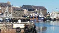 Peterhead Harbour, Birthplace of my great grandfather, George Ross (b Scottish Culture, What A Wonderful World, Aberdeen, Out Of This World, Banff, British Isles, Beautiful Landscapes, Genealogy, Wonders Of The World