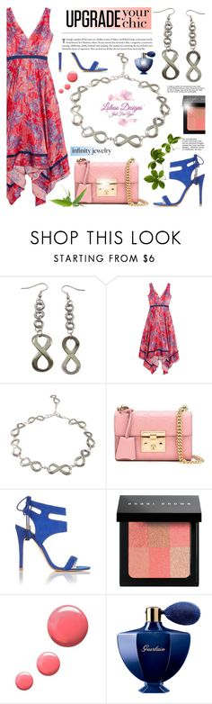 """Upgrade your Chic -  Loluso Designs 6"" by anyasdesigns ❤ liked on Polyvore featuring Saloni, Gucci, Miss Selfridge, Bobbi Brown Cosmetics, Topshop and Guerlain"