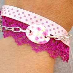 bracelet romantique pour un  noël douceur