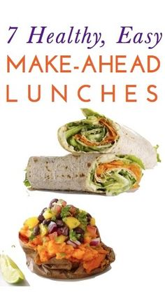 7 healthy, cheap & easy lunch ideas you can make ahead & pack for your day